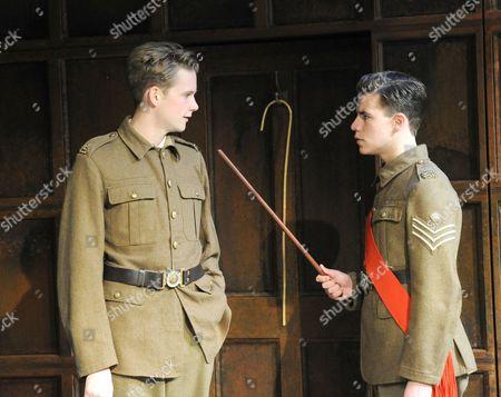 Rob Callender as Bennett, Oliver Johnstone as Fowler