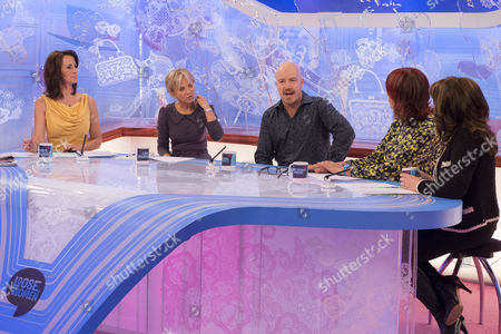 Andrea McLean, Lisa Maxwell, Andy Parsons, Janet Street-Porter and Jane McDonald.