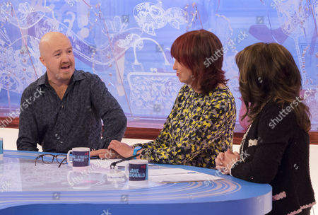 Andy Parsons, Janet Street-Porter and Jane McDonald.