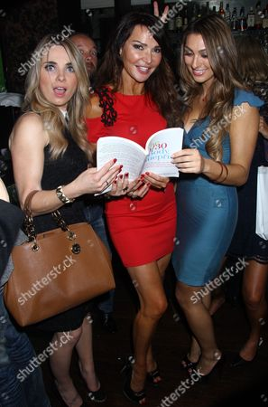 Sian Welby, Lizzie Cundy and Luisa Zissman