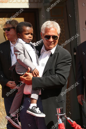 Louis Bardo Bullock with bodyguard
