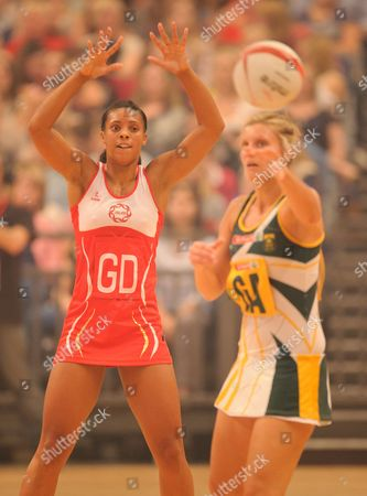 Stacey Francis of England Netbal
