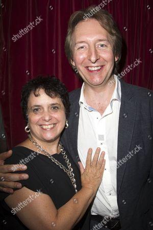 Nica Burns and Jonathan Church