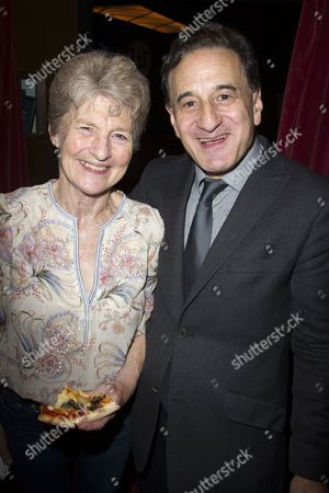 Stock Photo of Sue Parker and Henry Goodman