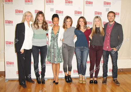 Blythe Danner, Playwright Amanda Peet, Nilaja Sun, Sarah Jessica Parker, Ali Marsh, Zoe Levin and Michael Stahl-David