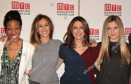 Nilaja Sun, Sarah Jessica Parker, Ali Marsh and Zoe Levin