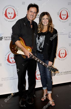 Rita Wilson and brother Chris Wilson