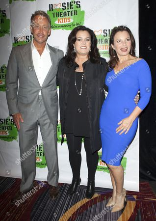 Stock Picture of Fran Drescher, Rosie O'Donnell, Peter Marc Jacobson