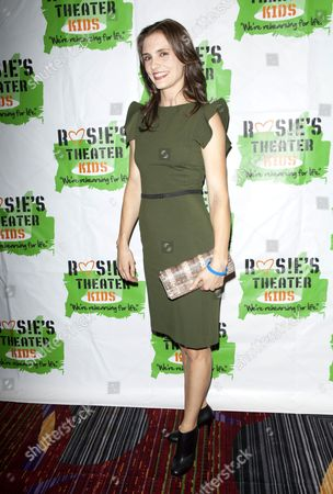 Editorial picture of 10th Anniversary Gala benefiting Rosie's Theater Kids, New York, America - 25 Sep 2013