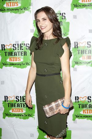 Editorial image of 10th Anniversary Gala benefiting Rosie's Theater Kids, New York, America - 25 Sep 2013