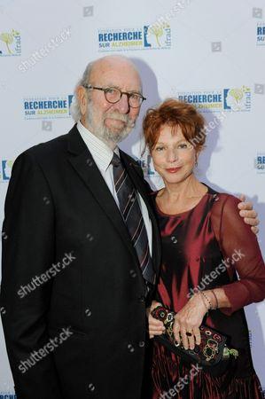 Jean-Pierre Marielle and Agathe Natanson