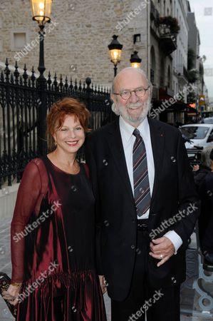 Agathe Natanson and Jean-Pierre Marielle