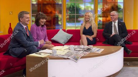 Editorial image of 'Daybreak' TV Programme, London, Britain - 26 Sep 2013