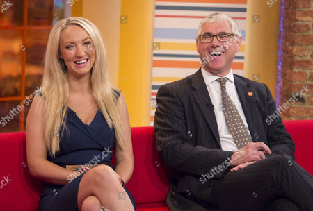 Stock Photo of Leah Totton and Nigel Mercer