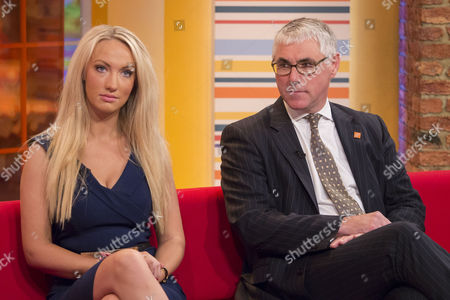 Stock Image of Leah Totton and Nigel Mercer
