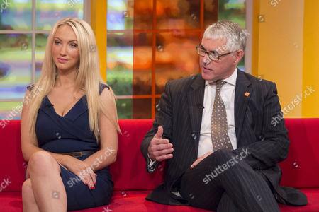 Leah Totton and Nigel Mercer