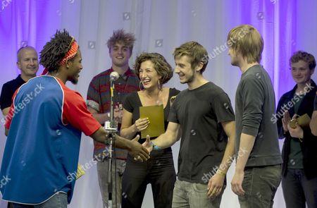 Editorial image of Gigs Big Busk Grand Final, London, Britain - 08 Sep 2013