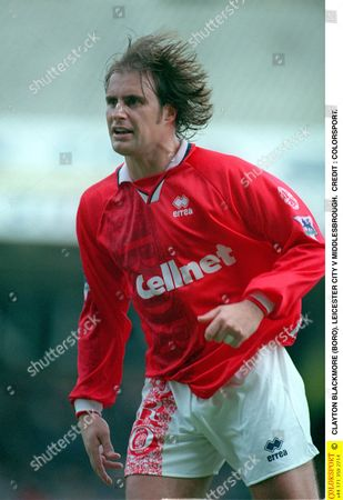CLAYTON BLACKMORE (BORO) LEICESTER CITY V MIDDLESBROUGH Great Britain Leicester