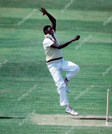 Joel Garner (West Indies) England v West Indies 1984 2nd Test: Eng v WI