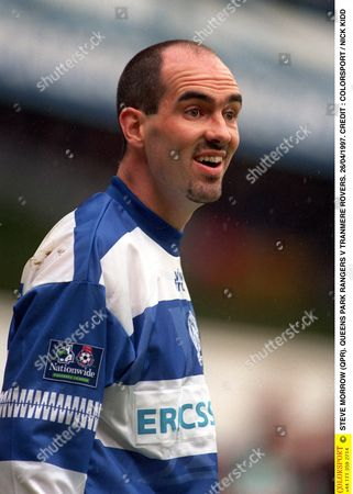 STEVE MORROW (QPR) QUEENS PARK RANGERS V TRANMERE ROVERS 26/04/1997 Great Britain London