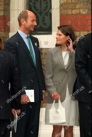 PRINCE DIMITRI OF YUGOSLAVIA AND PRINCESS VICTORIA OF SWEDEN