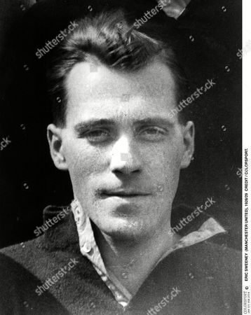 Stock Photo of ERIC SWEENEY (MANCHESTER UNITED) 1928/29 CREDIT / COLORSPORT Great Britain