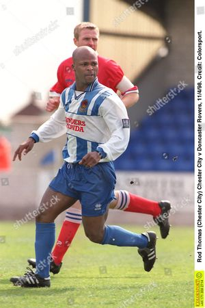 Rod Thomas (Chester City) Chester City v Doncaster Rovers 11/4/98 Great Britain Chester