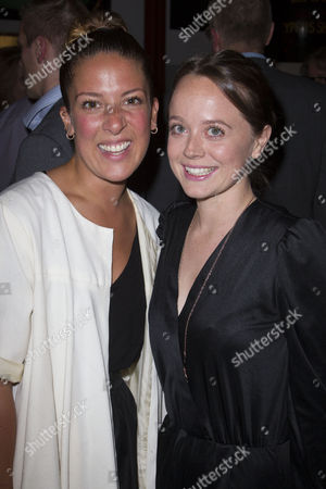 Natalie Casey and Charlie Clemmow