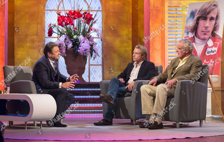 Alan Titchmarsh with Tom Hunt and Alastair Caldwell
