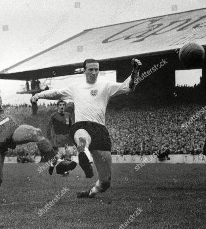 JACKIE CHARLTON - ENGLAND 2/10/67 WALES V ENGLAND at CARDIFF ARMS PARK Great Britain Cardiff