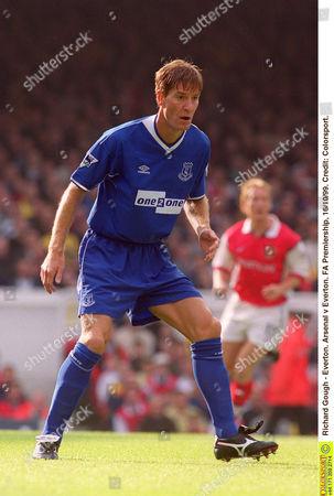 Richard Gough - Everton Arsenal v Everton FA Premiership 16/10/99 Great Britain London