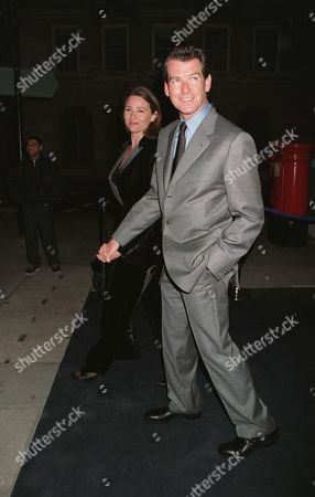 PIERCE BROSNAN WITH WIFE KEELY SHAYE SMITH