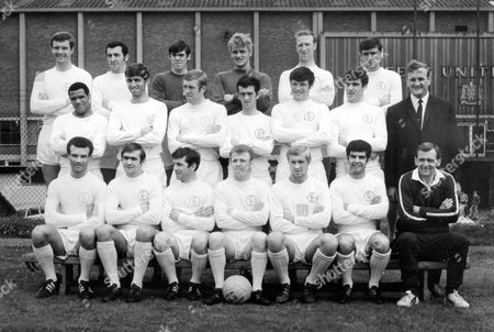 Leeds United (back row L>R) Paul Madeley Mike O'Grady David Harvey Gary Sprake Jack Charlton Norman Hunter (centre L>R) Albert Johanneson Rod Belfitt Mick Jones Terry Hibbitt Eddie Gray Peter Lorimer Mr Don Revie (Manager) (front row L>R) Paul Reaney Terry Cooper Johnny Giles Billy Bremner Jimmy Greenhoff Mick Bates Les Cocker (Trainer) 1968/69 Great Britain