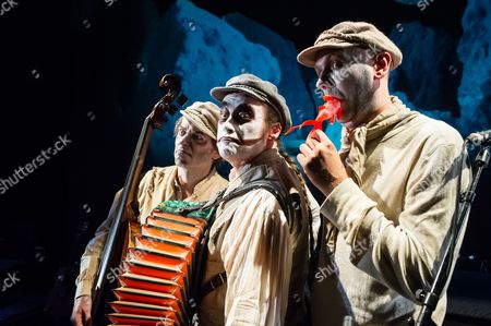 The Tiger Lillies - Adrian Stout, Martyn Jacques and Mike Pickering