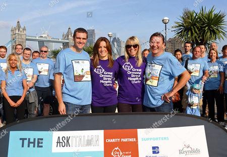 Theo Randall, Natalie Pinkham, Kate Thornton and Steve Holmes