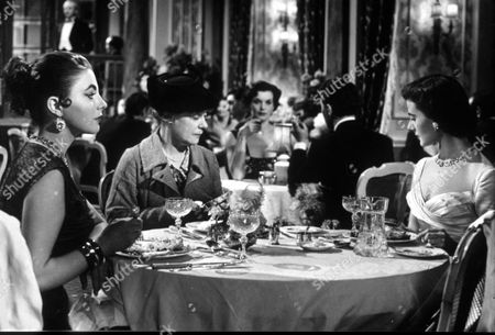 Stock Photo of Kathleen Harrison , Joan Collins and Yvonne Mitchell in 'Turn the Key Softly'
