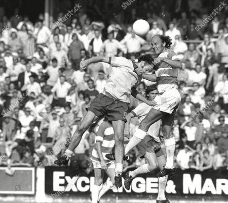 Terry Mancini - QPR QPR v Southampton 25/8/73 Great Britain London