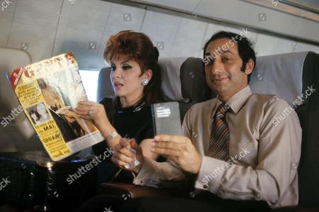 Stock Picture of Gina Lollobrigida and George Kaufman