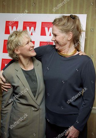 GLENN CLOSE AND LIV ULLMANN