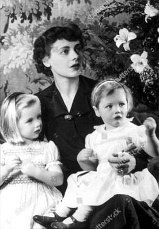 CELIA JOHNSON AND CHILDREN