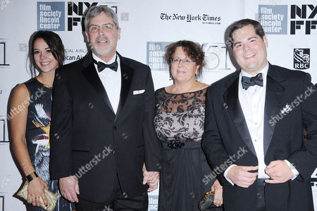 Stock Image of Richard Phillips, Andrea Phillips and family