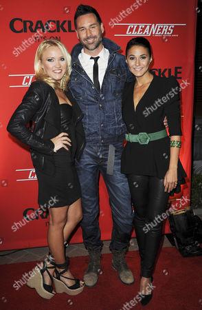 Emily Osment, Paul Leyden and Emmanuelle Chriqui