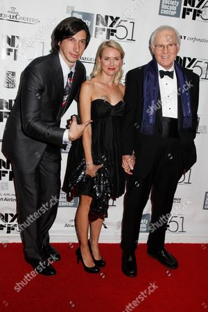 Adam Driver, Naomi Watts and Charles Grodin