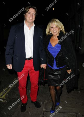 Stock Picture of Justin Mallison & Elaine Paige