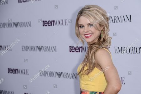 Editorial photo of Teen Vogue Coveted Young Hollywood Issue Party, Los Angeles, America - 27 Sep 2013