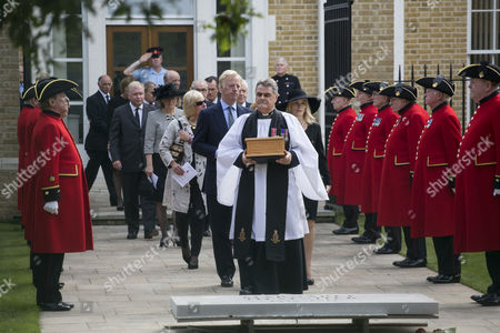 Editorial image of Interment of Margaret Thatcher's ashes at the Royal Hospital, Chelsea, London, Britain - 28 Sep 2013