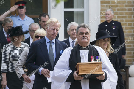 Stock Picture of Mark Thatcher and wife Sarah Thatcher