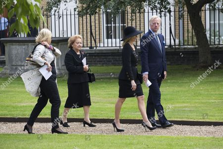Editorial photo of Interment of Margaret Thatcher's ashes at the Royal Hospital, Chelsea, London, Britain - 28 Sep 2013