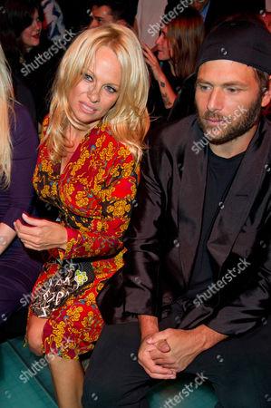 Pamela Anderson and ex-husband Rick Salomon