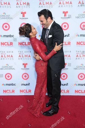 Eva Longoria with Ricardo Antonio Chavira